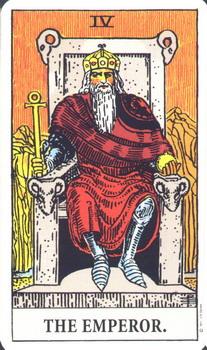 Император - символика Колдовское таро